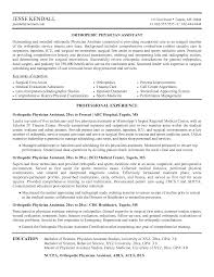 8 Best Images Of Physician Assistant New Graduate Resume