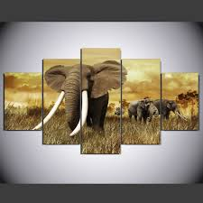 china hd printed elephant painting group painting canvas print room decor print poster picture canvas ym 013 china canvas painting printed oainting