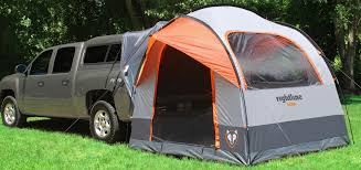 Tent for truck with topper | Camping | Truck tent camping, Truck ...