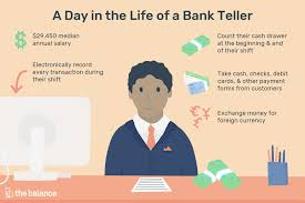 Bank Teller Job Description Salary Skills More
