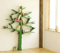Kids Bookshelves Furniture With Tree Branch Collections
