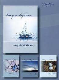 baptism cards new life baptism cards