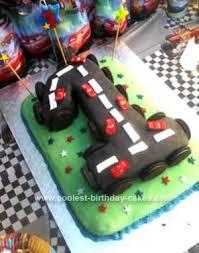Coolest Cars 1st Birthday Cake