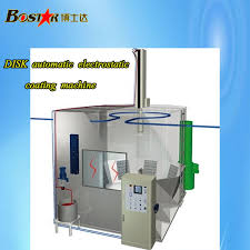 high efficiency automatic electrostatic disk bell paint spraying machine