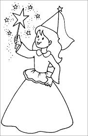 Bellissima Fatina Disegno Per Bambini Da Colorare Gratis Disegni