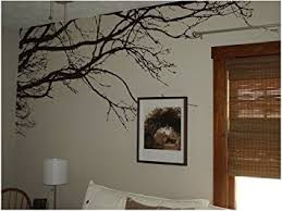Vinyl Black Tree Top Branches Wall Decal Tree Branch Wall Stickers for Tree  Wall Decor
