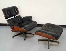Eames Chair With Ottoman Classic Eames Lounge Chair And Ottoman Home Ideas Collection