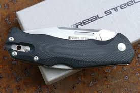 "<b>Нож складной H7</b> ""<b>Snow</b> Leopard"" Real Steel, КНР"