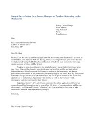 Letter For Teaching Position Fresh Job Letter Interest Teacher Cover
