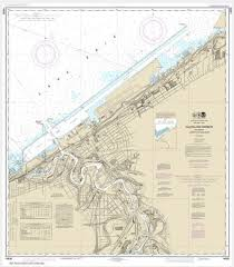 Noaa Chart Cleveland Harbor Including Lower Cuyahoga River 14839