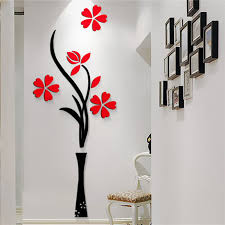 Small Picture Online Get Cheap Flower Design Wall Stickers Aliexpresscom