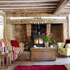 mesmerizing country living room wall