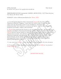 Military Recommendation Letter Sample Best Photos of Army Letter Of Recommendation Example Military 1