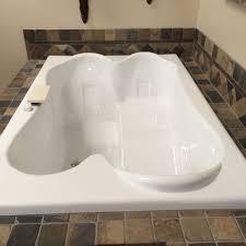 bathtub design two person carver tub t p l drop in center