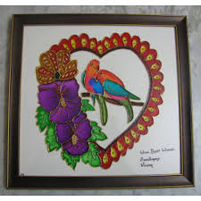 love birds glass painting love birds glass painting in india at best