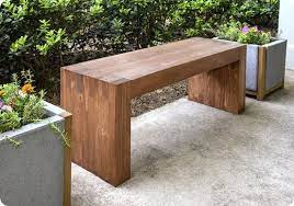 modern outdoor bench for 35