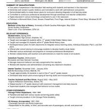 Sample Resume Summary Of Qualifications Retail New Retail Resume ...