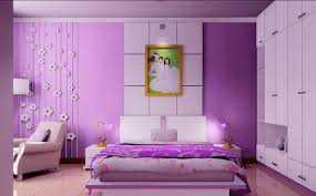 purple bedroom furniture. Source Fascinating Purple Painted Wall For Bedroom Ideas With Cozy Platform Bed And Small Nightstands Furniture