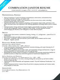 Resume For A Cleaning Job Best Of Cleaning Job Resume Cleaning Resume Sample Janitor Combination