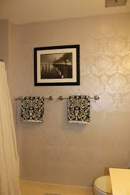 pearl wall paintDamask Wall Stencil For Painting With Luxury Pearl White Damask