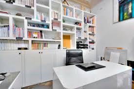 designer home office. Inspirational Modern Home Office Design Ideas With Nice View : Huge  Bookcase Designer Home Office