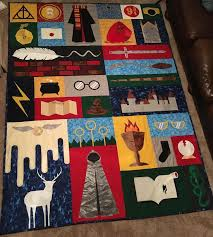 Harry Potter Quilt for Christmas! | Creativity & Harry Potter Quilt for Christmas! Adamdwight.com