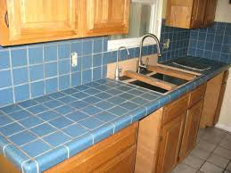 concrete over tile countertop covering tile ideal covering tile painting kitchen impression with medium image