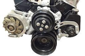 Amazon.com: SBC Power Steering Pump mall Block Chevy 551522 ...