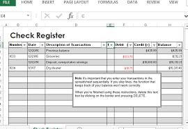 Printable Check Register Book Printable Check Register Excel Download Them Or Print