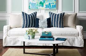 Image result for accent pillows in a white room