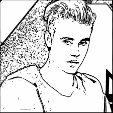 Small Picture Justin Bieber Coloring Pages To Print Coloring Page