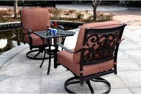 patio furniture cast aluminum deep