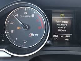 Epc Light On Car Dashboard Problem With Audi 2013 S5 Epc Audiworld Forums