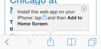 Image result for add site to home screen