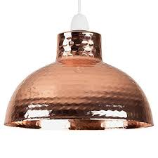 hammered copper lighting. Retro Style Hammered Copper Metal Effect Dome Ceiling Pendant Light Shade Lighting T