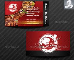 19 Catering Business Card Templates Psd Pages Word Examples