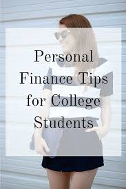 budgeting or personal finance for college students personal finance advice for college students and recent graduates