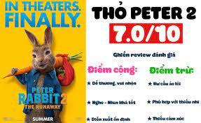 Review phim Thỏ Peter 2: Dễ thương, vui nhộn nhưng hư cấu