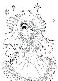 Diy Concept Anime Coloring Pages Waggapoultryclub