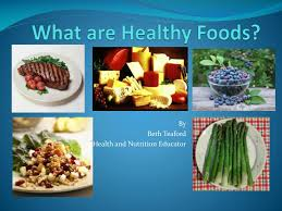 Presentation Foods Ppt What Are Healthy Foods Powerpoint Presentation Id