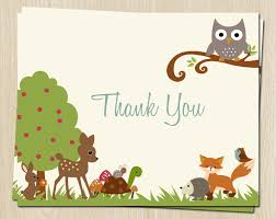 Thank You Messages For Baby Shower Gifts Part  37 Printable Owl Baby Shower Thank You Cards