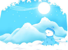 Winter Powerpoint Snowman Winter Christmas Free Ppt Backgrounds For Your