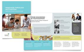 Professional Services Brochures Flyers Word Publisher Templates
