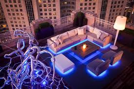 led strip lights deck contemporary with patio umbrella outdoor stair and step lights