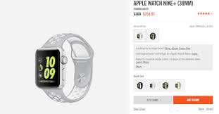 Apple Watch Face Size Chart Nike Offering Discount On 38mm And 42mm Apple Watch Nike Models