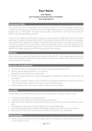 Customize Your Curriculum Vitae  CV  With This Template Pinterest