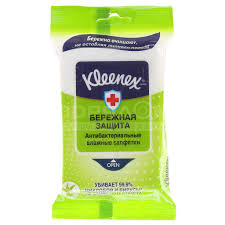 <b>Салфетки влажные Kleenex</b> антибактериальные, 10 шт в Москве ...