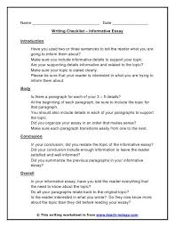 informative essay co more gallery of informative essay