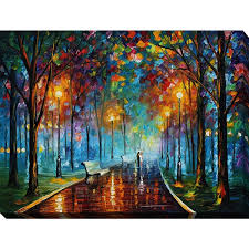 leonid afremov x27 misty mood x27 giclee print canvas wall art on canvas wall art overstock with shop leonid afremov misty mood giclee print canvas wall art on