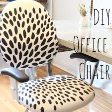 diy reupholstered office chair home goodness office designs chair makeover and craft